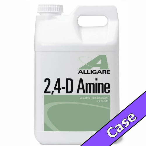 2,4-D Amine | 4 Gallons (4 x 1 Gallon) Case | Compare to Weedar®