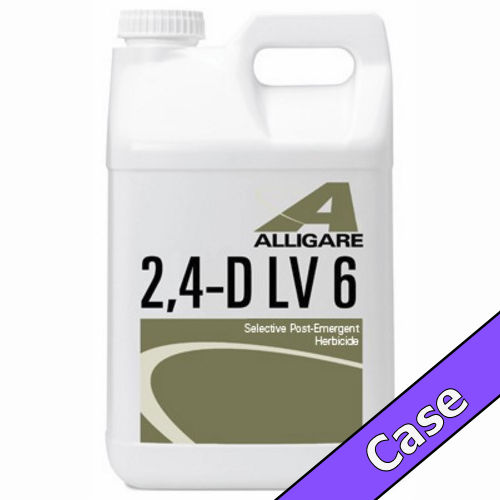 2,4-D LV6 | 5 Gallons (2 x 2.5 Gallons) Case | Compare to Weedone®