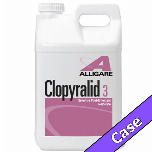 Clopyralid 3 | 4 Gallons (4 x 1 Gallon) Case | Compare to Reclaim® / Transline®