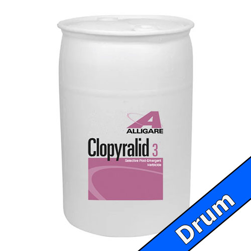Clopyralid 3 | 30 Gallon Drum | Compare to Reclaim® / Transline®
