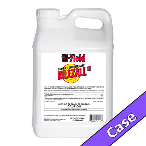 Killzall III Super Concentrate | 5 Gallons (2 x 2.5 Gallons) Case