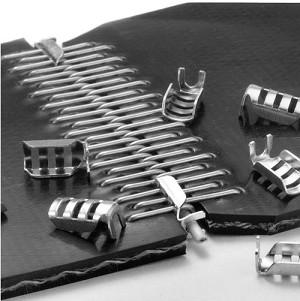 Clipper belt lacing.